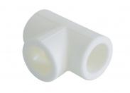 Kalde  d=110 Тройник для полипропиленовых труб под сварку (цвет белый)