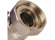 """ROMMER  Насосная группа с термостатическим смесительным клапаном (20-40?С) 1"""" без насоса"""