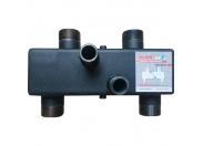 Гидравлический разделитель Warme WGR85GB с торцевыми отводами и накидными гайками