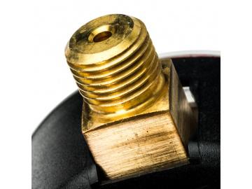 """STOUT  Манометр радиальный с указателем предела. Корпус Dn 63 мм 1/4"""""""