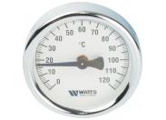 Watts  FR810(ТАВ) 63/120 Термометр биметаллический накладной