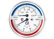 РОСМА  ТМТБ-31Р.1(0-120С)(0-0,4MPa)G1/2.2,5 ТЕРМОМАНОМЕТР 80 мм, ТИП - ТМТБ-31Р, температура: 0-120С, давление: 0-0,4MPa, G1/2 (снизу), корпус-сталь, механизм-латунь, длина 46мм, кл. 2,5