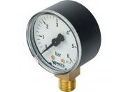 "Watts  F+R200(MDR) 50/ 6x1/4"" Манометр радиальный 50мм, 0-6 бар"