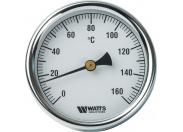 """Watts  Термометр F+R801(T) 80/50(1/2"""",160""""С)"""