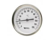 Watts  Термометр биметаллический с погружной гильзой F+R801(TSD) 100/50