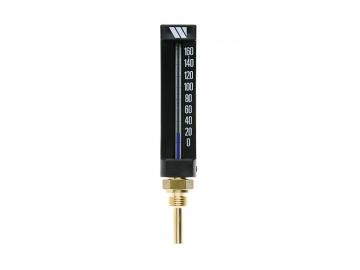Watts  Термометр спиртовой прямой (штуцер 100 мм)