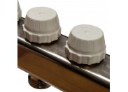 STOUT  Коллектор из нержавеющей стали в сборе без расходомеров 7 вых.