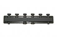 BARBERI Распределительный коллектор (4 отопит. контура, в теплоизоляции, сталь)