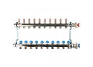 REHAU  Распределительный коллектор HKV-D на 10 контуров (нерж .сталь)