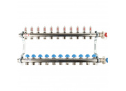 REHAU  Распределительный коллектор HKV-D на 11 контуров (нерж .сталь)