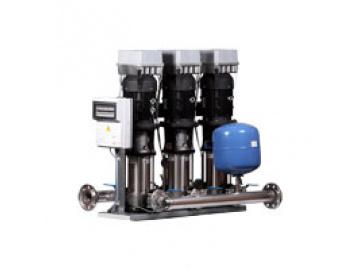 Станция повышения давления Бустер ВатТ УНМВ 3SBI 32-4-7.5-100-2-1 с насосами Speroni Booster WatT