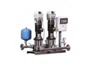 Станция повышения давления Бустер ВатТ УНМВ 2CR20-03-4,0-80-2-1-F с насосами Grundfos Booster WatT