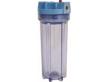 """Фильтр прозрачный Waterstry SL 1/2""""-10"""" (0,6-8,8 бар, картридж PP 10 мкм, кронштейн, ключ)"""