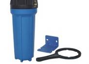 """Фильтр синий Waterstry SL 1/2""""-10"""" (0,6-8,8 бар, картридж PP 10 мкм, кронштейн, ключ)"""
