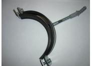 Кронштейн 4' д/стальной трубы металл с резин уплотнителем