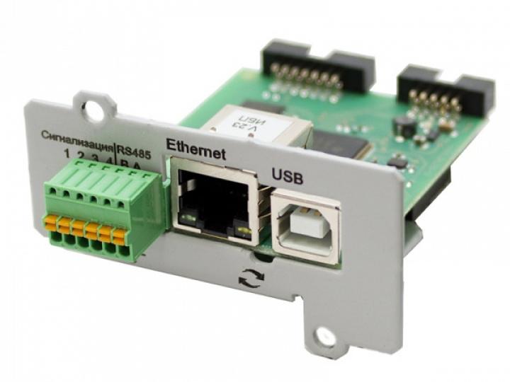 Плата расширения интерфейсов IC-SNMP/Web