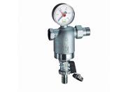 """Фильтр промывной FAR 1/2""""HВ 100 мкм 25 бар и до 95 °С с манометром"""
