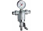 Фильтр 3/4 НР-НР, с манометром, 300мкм, Max: 95 °C, 25 бар