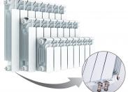 Радиатор Rifar Base Ventil 350 х 4 секций (VR, VL)