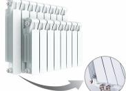 Радиатор Rifar Monolit Ventil 500 х 11 секций (VR, VL)