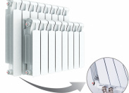Радиатор Rifar Monolit Ventil 500 х 12 секций (VR, VL)