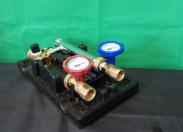 Насосная группа быстрого монтажа с трехходовым смесительным клапаном