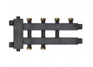 Warme  Коллектор отопления WKD.R.85К.F (Дублер компакт с гидроразделителем и накидными гайками) на 2+1+1 контура потребителей (до 85 кВт)