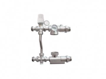 Группа автономной циркуляции для систем отопления латуная TIM JH-1039