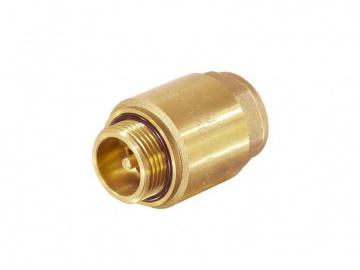 """Обратный клапан для скваженного насоса с металлическим штоком 1""""нар-внутр. TIM"""
