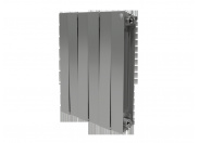 Радиатор Royal Thermo PianoForte Silver Satin 500 х 4 секции
