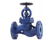 Вентиль запорный DVF WT Ду 200 Pу 16 Water Technics