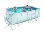 Каркасный прямоугольный бассейн Bestway 56456 (412х201х122) с картриджным фильтром