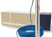 Скважинный насос Grundfos SQ 1- 110 (напор до 140 м, произв. 28 л/мин)