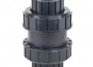 Обратный клапан шаровый ПВХ 50mm