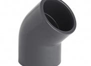 Отвод ПВХ 63mm/45°