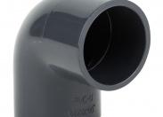 Отвод ПВХ 63mm/90°