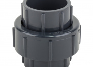 Муфта разборная ПВХ с уплотнением из EPDM 50mm