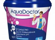 Средство для повышения уровня pH AquaDoctor pH Plus 1кг.