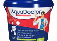 Дезинфектант для бассейна на основе хлора быстрого действия AquaDoctor C-60T 1 кг.