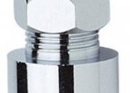 """Соединитель обжимной D10мм с внутренней резьбой 1/2"""", для жесткой медной подводки"""