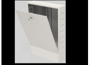 Шкаф коллекторный наружный 651х120х703