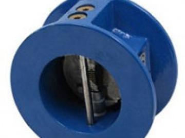 Клапан обратный Ридан - ЗОД PN16 DN80, межфланцевый, двустворчатый, корпус: чугун GGG40 c EPDM покрытием, пластины: нерж.сталь Danfoss (082X4052)