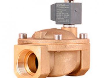 """Клапан соленоидный CEME D40 G 1 1/2"""" D40 NBR ~1x230 В 50 Гц 2/2 ходовой нормально закрытый (8618NN390SBDF)"""