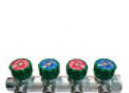 Коллектор Far (FK 3824 134 TP) 1 ВР(г) х 4 выхода 3/4 НР(ш) х 1 НР(ш) регулируeмый