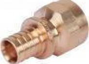REHAU RAUTITAN Фитинги RAUTITAN Переходник с внутренней резьбой 20-Rp 3/4 RX+ для труб из сшитого полиэтилена аксиальный