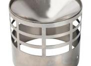 Решетка из нерж. ст. DN80 для дымоотводящей трубы STOUT