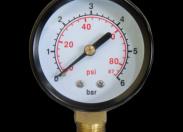 "Радиальный манометр VODOTOK KF-308 (6 бар. 40 мм, 1/4"", -20 до +60 C)"