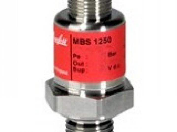 Преобразователь давления MBS 1250, 0-10 бар, 4-20 мА, M12x1, G1/4A Danfoss (063G1133)