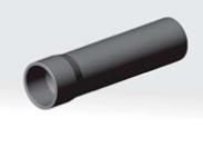 Труба ПВХ с раструбом Ø 63х3,0мм НПВХ100 (1,0 МПа) SDR21 Агригазполимер для напорного холодного водоснабжения (соединение клеевое), L=3 мАртикул: АСК063Т цена за 1м.