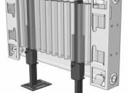 Кронштейн напольный RT K11.31 для панельных радиаторов H300-900 с декоративной накладкой